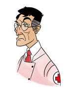 Tf2 Character 1: Medic by monkeyoo