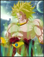 Broly : Legendary Super Saiyan by Ztfun