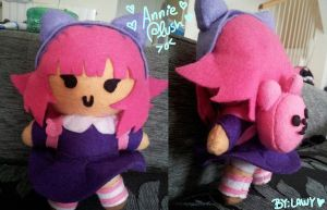 League of legends Annie plush by lawy-chan