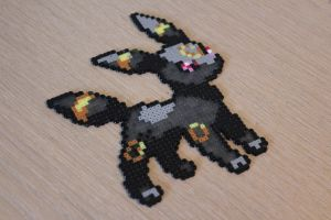 Hama Umbreon Sprite by Retr8bit