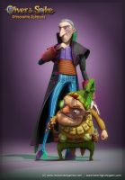 Oliver and Spike - Nox and Chyme by henning