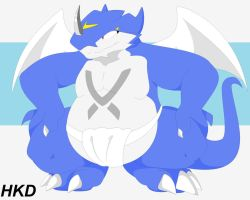 Sumo Exveemon by HiKazeDragon
