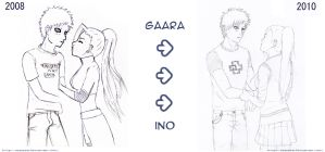 Gaara and Ino - Changes by MR-Artz