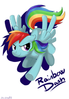 Rainbow Dash by Shrinkhead13