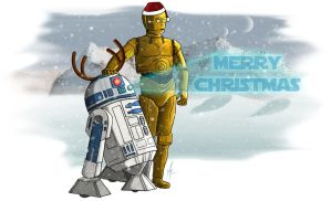 Artoo and Threepio by SumtimesIplaytheFool