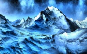 Winter Snow Mountains 6 by WictimCZ
