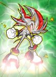 Fleetway-style Super Shadow by Swirlything