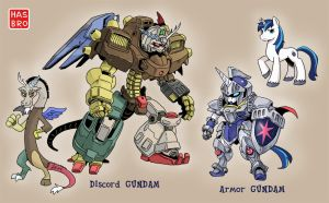 PONY GUNDAM 5 by shepherd0821