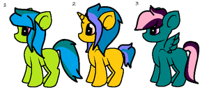 More MLP Adopts by spaced-out-knight