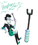Dioptase weapon by HeeeeresIzzy