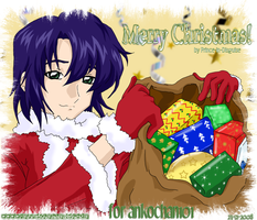 Santa Athrun, for ankochan101 by Prince-in-Disguise