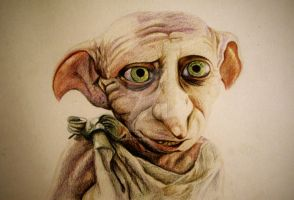 Dobby is a free elf!! by JuliaBadeeva