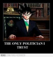 The only one Politician i can trust by XDarkDave1040