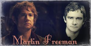 Martin Freeman by Symbelmine21