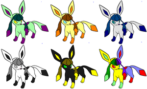 Glaceon adoptables by lemoncave