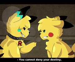 AT: 'You cannot deny your destiny.' by Dekkii