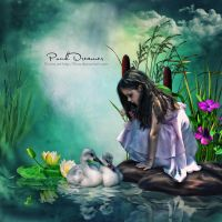 Pond Dreamer by flina