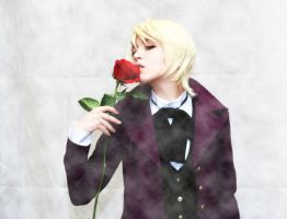 The kiss of the rose by KyonTyan