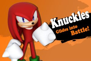 Super Smash Bros. Knuckles Newcomer? by InfamousSubZero