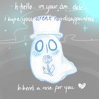 Napstablook by realalfred