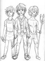 Guys of Hunger Games by blindbandit5