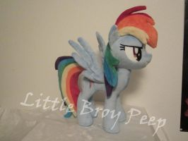 mlp Rainbow Dash (commission) by Little-Broy-Peep