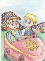 Amusement Ride by myintermail