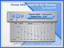 iTunes Mini Label-OS by NewaveCR