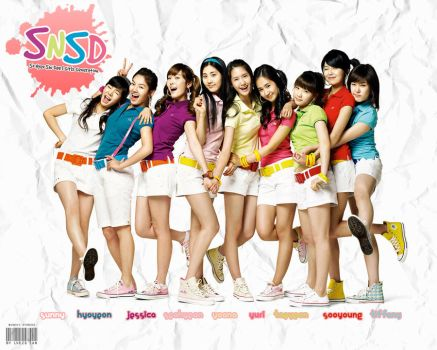 SNSD: Colorful World by Lhezs