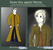 Re Draw Meme: Rowan. by fishter911