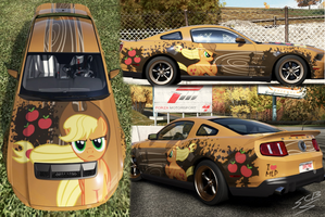 Shelby GT500 2010 of AppleJack by Dyani-Yahto