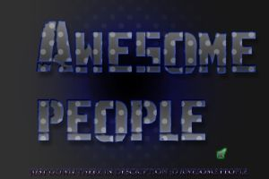 awesome people by handschufachxD