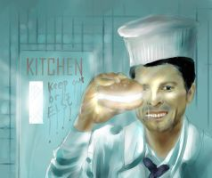 White Castiel's Soulburgers by amidarosa