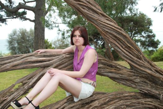Tree Hugger II by CandyPoutModelling