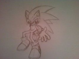Sonic sketch by nothing111111