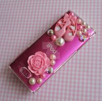 Super Girly Ipod Deco by FatallyFeminine