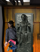 grace hanna carbonite trophy by willartmaster
