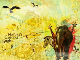 Nature's Canvas by fiyah-gfx