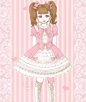 pink lolita by suppichan