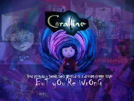 Coraline Wallpaper by MyDearWatson