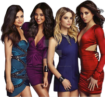 Pretty Little Liars Girls PNG by nickelbackloverxoxox