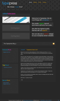Typepress.net Redesign by alexjames01