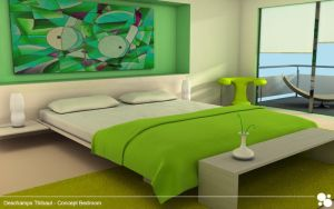 Concept bedroom by Tibs-