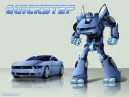 Transformers OC - Quickstep by suzidragonlady