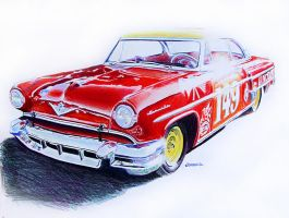 Lincoln Capri by johnwickart