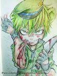 Flippy (Happy Tree Friends) by PsicoDelicia