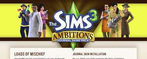 The Sims 3 Ambitions by bionikdesign