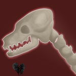 October Icon - Skull Painting by MidnightSt0rm