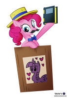 Pinkie Trade Ya - Shading Test by MLPBlueRay
