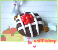 Cherry cake bracelet by coffishop